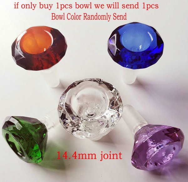 only buy big glass bowl: 14.4mm