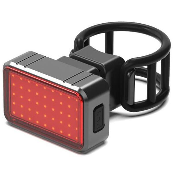 Lumières de bicyclette USB chargeant le frein à induction intelligent bicyclette d'équitation feux arrière cyclisme pour accessoires
