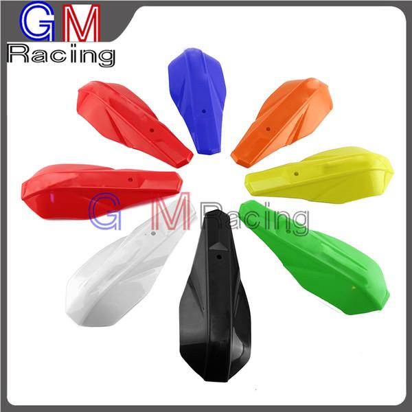 best selling Motorcycle Plastic Handguard Hand Guard Fit CR CRF XR SXF XCF EXCF SX XC XR YZ YZFR WR KX KXF KLX DR RM DRZ RMZ TC TE FE
