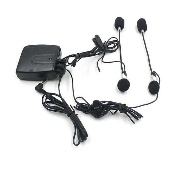Motorrad-Sturzhelm-Audio-Wechselsprechanlage-Kopfhörer des Motorrad-40Pcs / lot mit Audioeingangsstecker IPOD MP3 freies Verschiffen