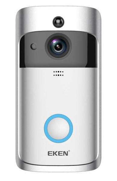 1 PCS EKEN V5 Smart WiFi Caméra Vidéo Sonnette Interphone Visuel Avec Carillon vision nocturne IP Porte Bell Caméra de Sécurité À Domicile