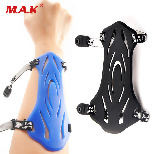 2 color arm guard protection safe strap soft rubber for and children archery shooting thumbnail