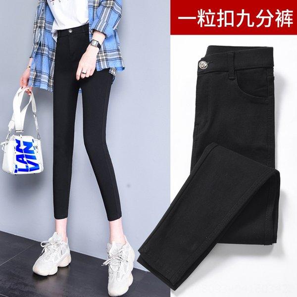 1 Düğme Ayak bileği uzunlukta pantolon