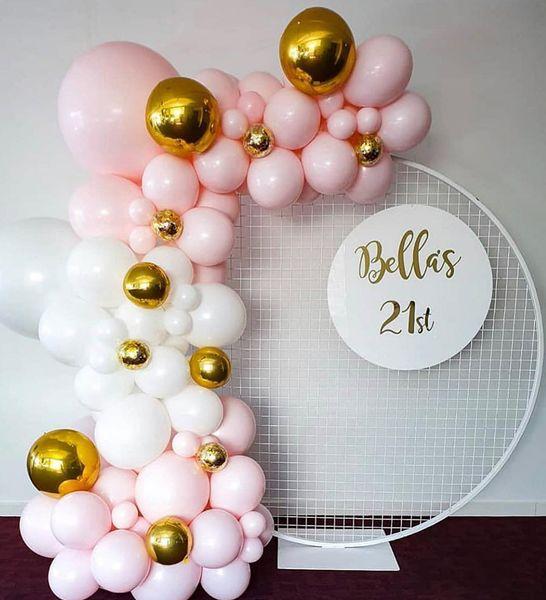 Balloon Arch Garland 143pcs DIY Balloons Kit Decoration Strip Holiday Wedding Baby Shower Graduation Anniversary Birthday Party