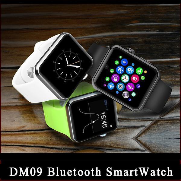 Lemfo DM09 Bluetooth Smart Watch 2.5D ARC HD Экран Поддержка SIM-карты носимых устройств SmartWatch Волшебная ручка для IOS Android DHL бесплатная доставка