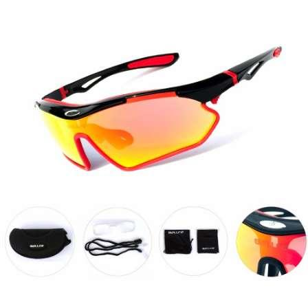 TR90 Radfahren Brille Unisex Outdoor Sonnenbrille UV400 Fahrrad Sport Reitbrille Winddicht Angeln Eyewear