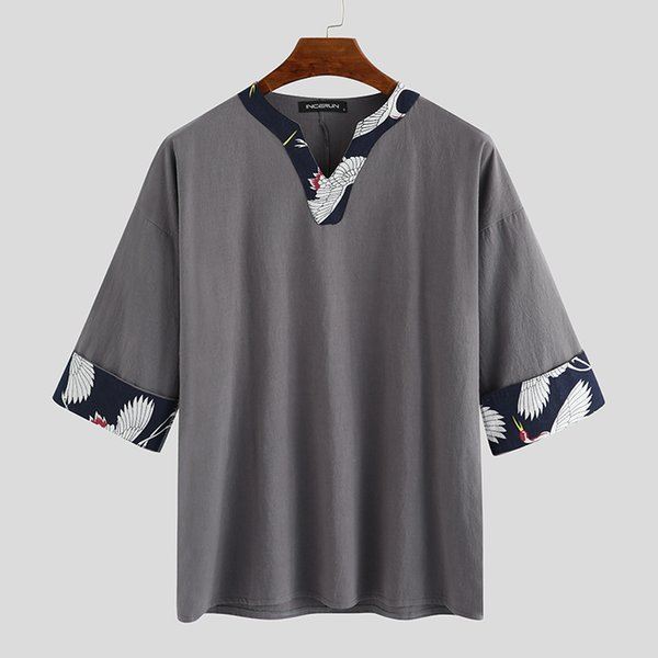 Grau Hemd