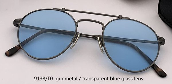 9138 / T0 Rotguss / transparent blau