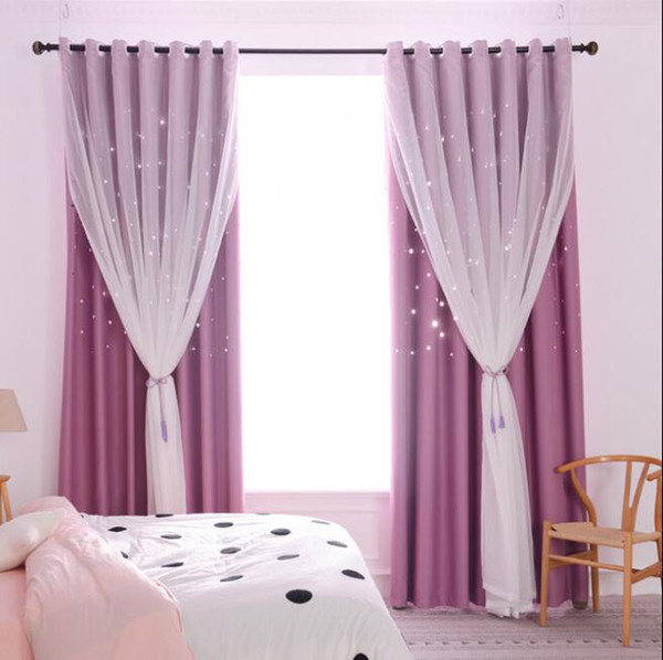 Purple Yarn + Curtain