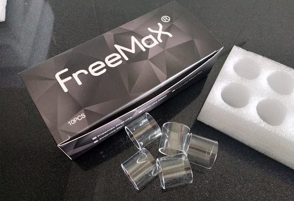 Ecig Clear Glass Tube Для Aspire K4 Cleito 120 Pro FV8 младенца V2 FreeMax Fireluke 2 Tank Atomizer