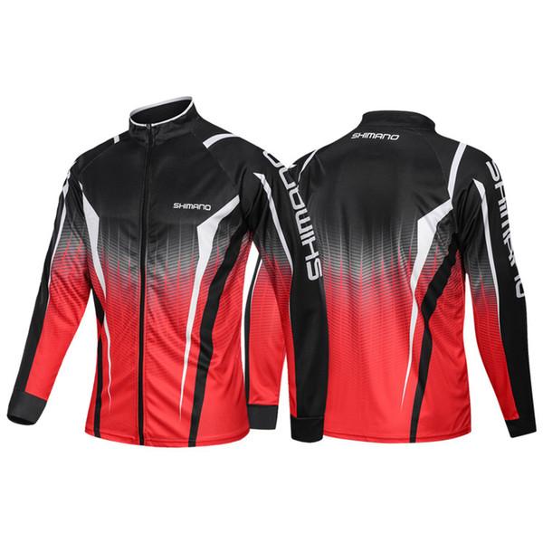 2019 New Fishing Shirts Outdoor Men Long Sleeve Anti-uv Fishing Clothing Hooded Jackets Breathable hiking Sport Hoodies
