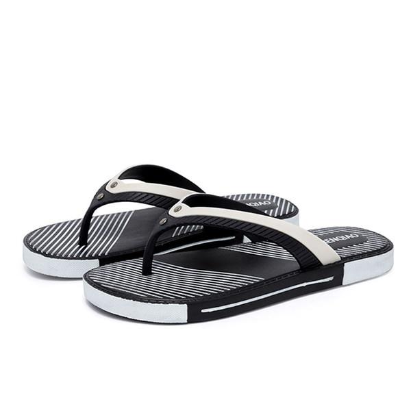 Chanclas de playa Zapatillas de hombre 2019 Verano Casual Zapatos al aire libre Zapatillas de hombre Zapatillas para hombre