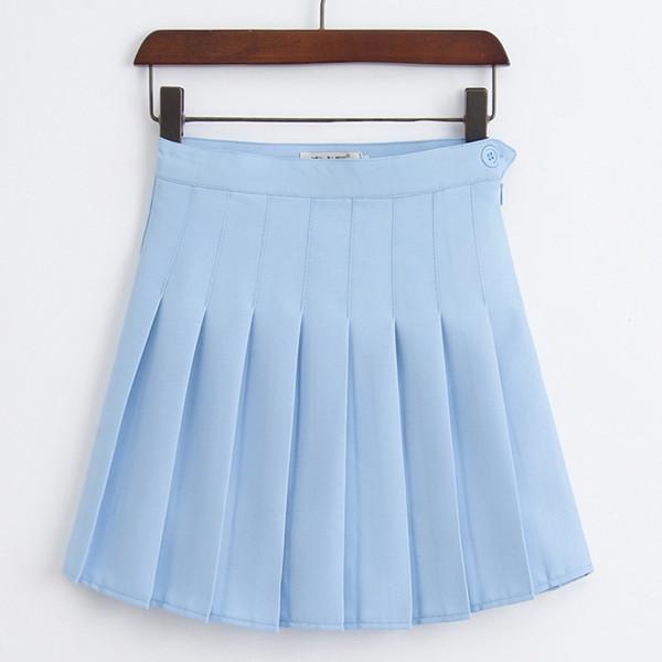 Un abito corto da bambina a grata a pieghe a vita alta gonna da tennis uniforme con pantaloncini interni mutande per badminton cheerleader