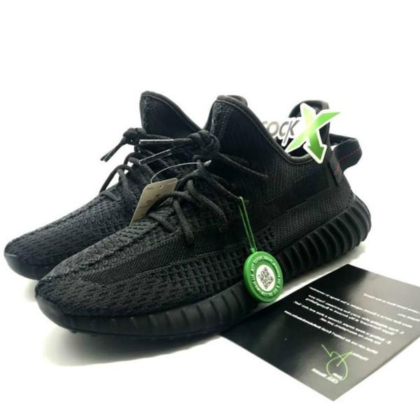 Femmes de qualité supérieure baskets noires réfléchissantes statiques avec Stock X GID femmes formateurs hommes chaussures unisexe Designer sneakers