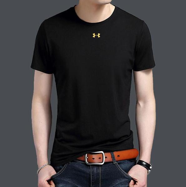 2019 Summer Designer T-shirts Pour Hommes Tops POLO blous Lettre Broderie T Shirt Hommes Vêtements Marque À Manches Courtes T-shirt Femmes Tops M-2XL Q805