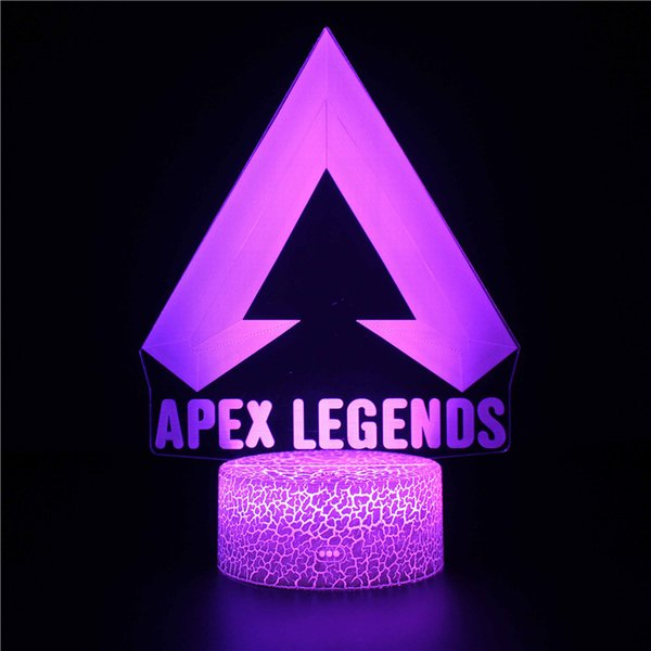 2019 Changing 3 Pattern Led Night Light With Remote Control Kids Lovely Bedroom Lights Apex Red Dead Redemption 3d Night Light From Juliedeng 13 06