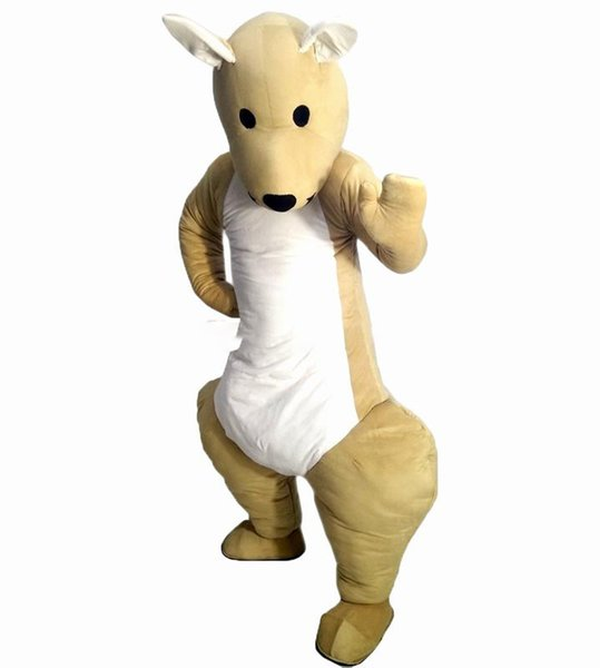 kangaroo Mascot cartoon, factory physical photos, quality guaranteed, welcome buyers to the evaluation and cargo