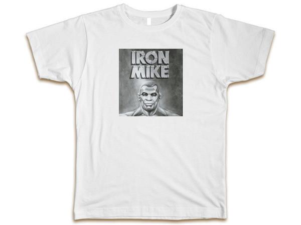 Mike Tyson Argent Champ Personnalisé T-shirt homme tee S-3XL Nouveau