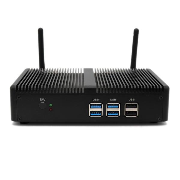 Eglobal noiseless mini pc Intel Core i3-7100U 2.4GHz 2/4/8GB Ram intel HD Graphics 620 with window or Linux