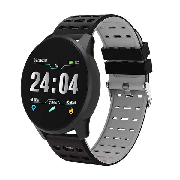Smart watch New B2 Bluetooth Fitness high quality Heart rate healthy sports bracelet waterproof alarm clock Touch Screen for Android IOS