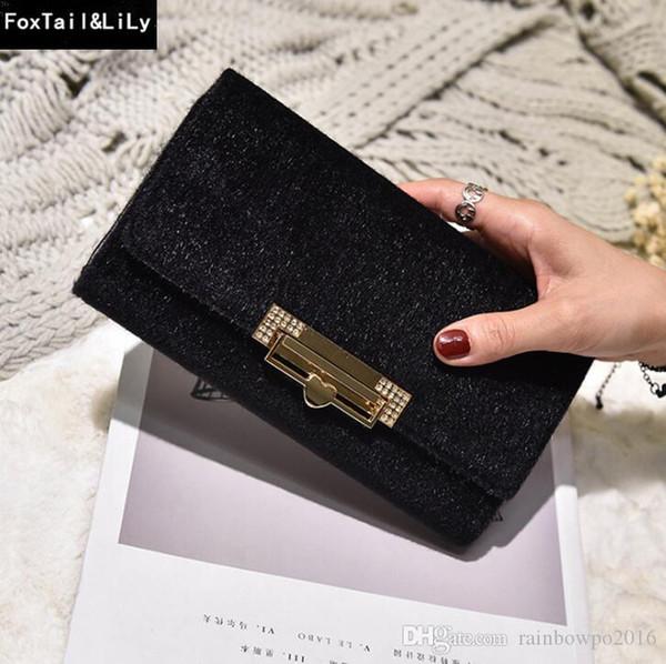 Fabrika doğrudan satış kadın çantası yeni kış kadife uzun cüzdan saf deri Bayanlar Cüzdan büyük kapasiteli yetmiş yüzde kapalı deri çanta