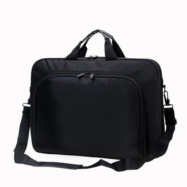 Portable Nylon Business Office Male Messenger Bag Men Briefcase For Document Zipper Laptop Computer Handbag Shoulder 15.6 Tablet #358401
