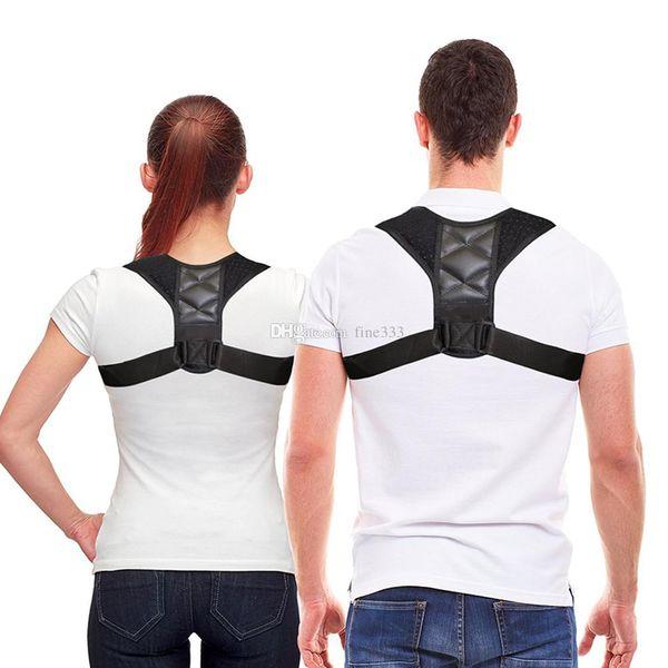 top popular Medical Clavicle Posture Corrector Adult Children Back Support Belt Corset Orthopedic Brace Shoulder Correct Back Pain Relief Corrector 2021