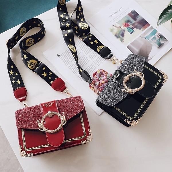 Luxo Bolsas Mulheres designer sacos 2019 Novas bolsas de chegada e Bolsas Sparkling Moda Shoulder Bandoleira Sacos para mulheres