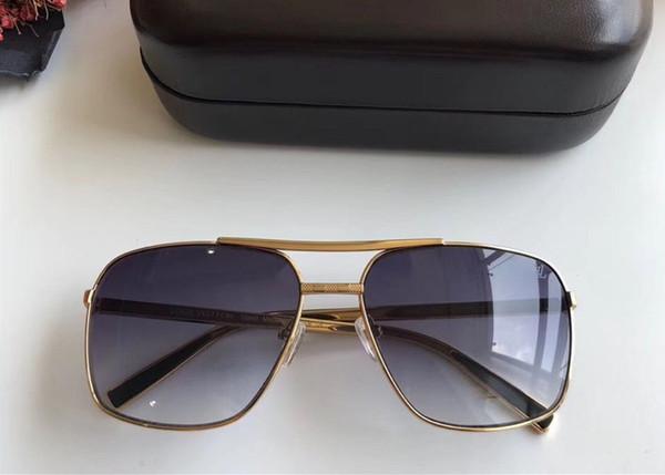 new fashion classic sunglasses attitude sunglasses gold frame square metal frame vintage style outdoor design classical model 2348