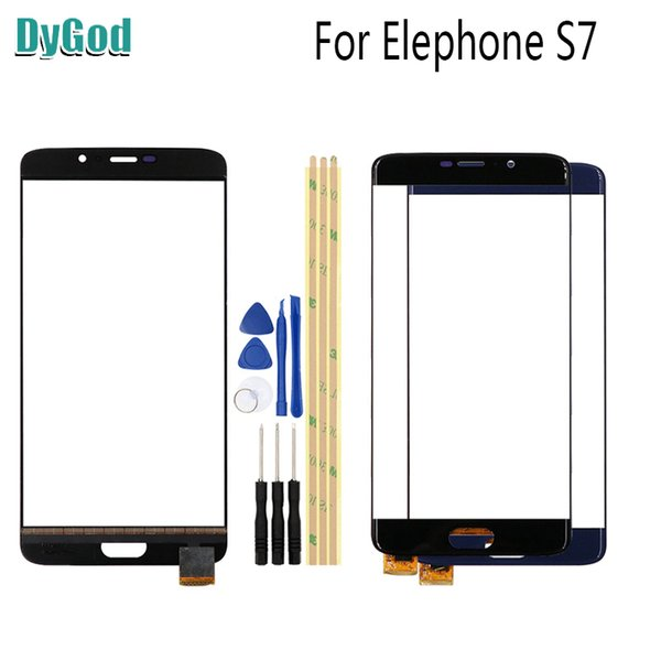 5.5 inch For Elephone S7 Touch Screen Digitizer Glass Replace Panel For Elephone S7 Replacement Parts With Tools Adhesive