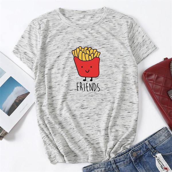 2019 venta al por mayor nueva llegada de las muchachas adolescentes del verano del cartón de las camisetas niños de la manera de los niños del bebé de la muchacha que imprimen tops suaves Ypf234