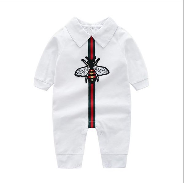 2019 Baby Bodysuit Rompers Jumpsuits Babies Girls Clothing Childrens Dresses Newborn Baby clothes Cotton Long Sleeve Clothes Romper 0-24CM