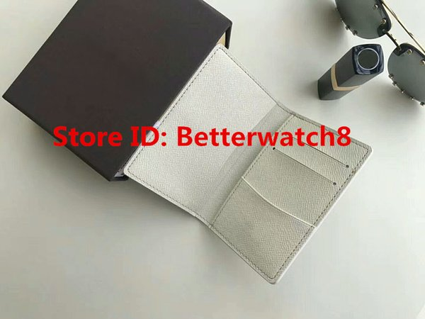 2019 New Women Men Famous Brand Graphite Short Wallets Genuine PU Leather Card Holder ID Purses 10@2 Bags Free Shipping With Box 11cm Sale