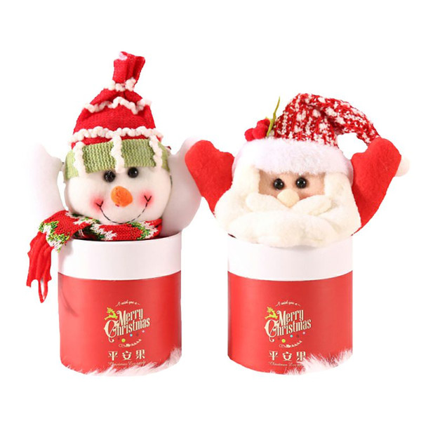 lovely candy box christmas decoration candy jar sugar container apples storage box new arrival