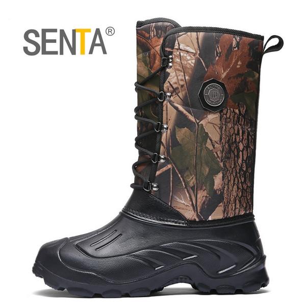 Großhandel Outdoor Männer Wanderschuhe Wasserdichte High Top Wüste Militärische Taktische Stiefel Mens Special Forces Sport Taktische Jagd Stiefel #