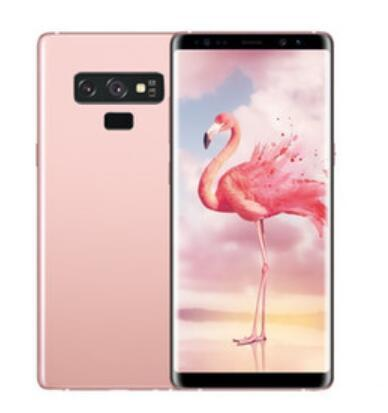 Goophone note9 Note 9 smartphones with Pen 6.3inch Android 8.0 dual sim shown 128G ROM 4G LTE cell phones 5pcs DHL