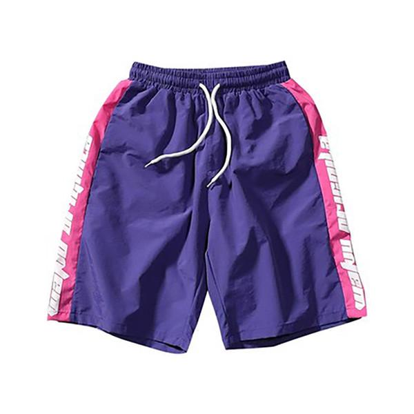 Straight Loose Shorts Men Fitness Streetwear Baggy Hip Hop Short Pants Men Joggers Sweatpants Ropa Casual Shorts Clothing 50nz29 SH19062701