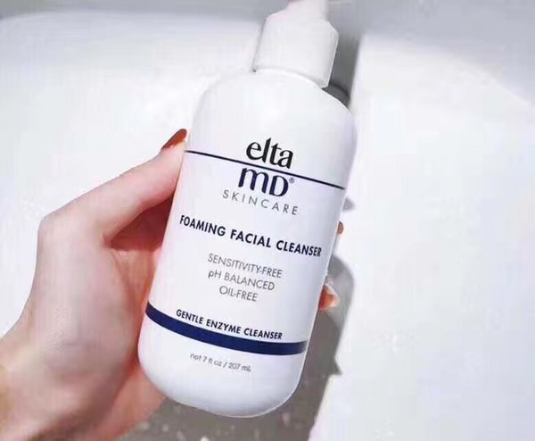 Elta MD Foaming Facial Cleanser Skin care Sensitivity-Free PH-Balanced Oil-free Face clean Cream 207 ml Gentle Enzyme Cleanser