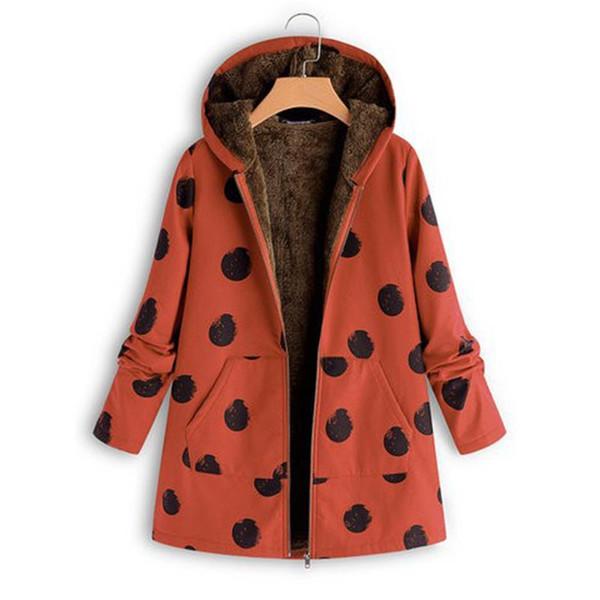 Woolen Wintermantel Von Großhandel Print Mantel Sj1261x 2018 Warme Kleidung Frauen Damen Casual Jacke Kapuze Frau Spot Hals Lange Mäntel Baumwolle Mit vgYbfI76my