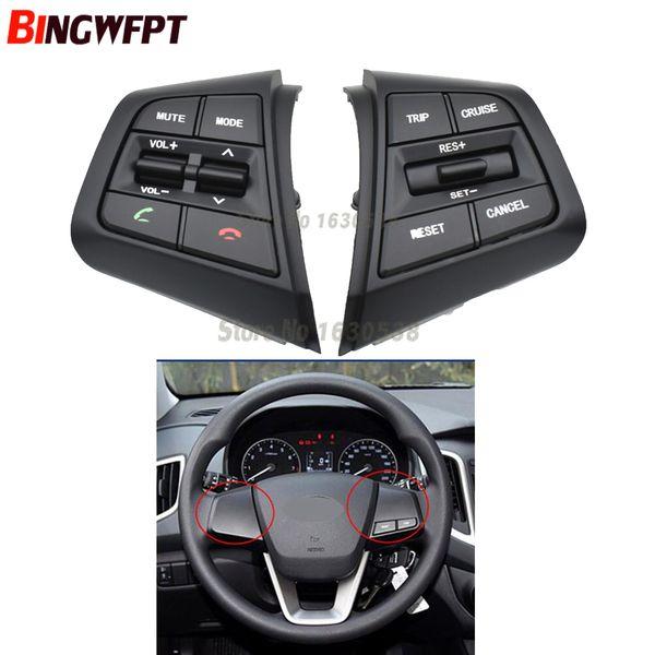 For Hyundai ix25 (creta) 1.6L Steering Wheel Cruise Control Buttons Remote Control Volume Switch car accessories