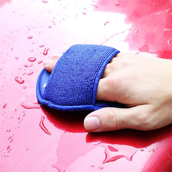 top popular Car Grinding Gloves Round Car Wash Beauty Grinding Cloth Decontamination Gloves Auto Care Cleaning Styling 2021