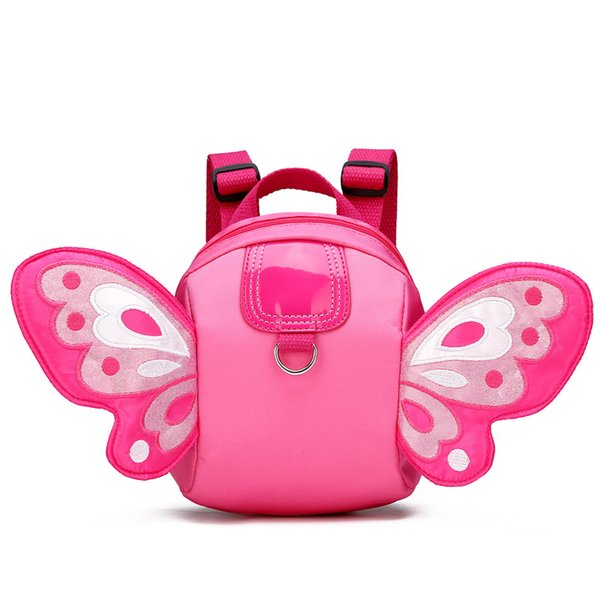 New Kawaii Plush Kids Anti-lost Butterfly Wings Backpack Toy Mini School Bag Children Gifts Kindergarten Boy Girl Baby Student