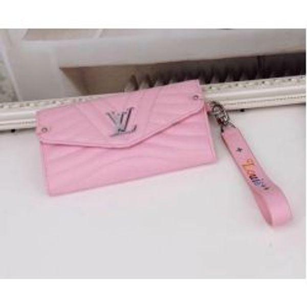 M63298 Women Wave Long Clutch Carry Wallet Purse Bag Pink Purse Bag Wallet Purse Belt Bags Mini Bags Clutches Exotics