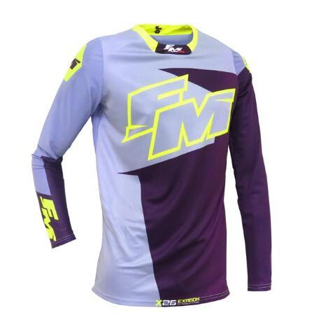 NEW FM Racing Motorcycles Clothes Riding J Road Mountain Bike DH Bicycle Moto Jersey DH BMX Motocross jersey
