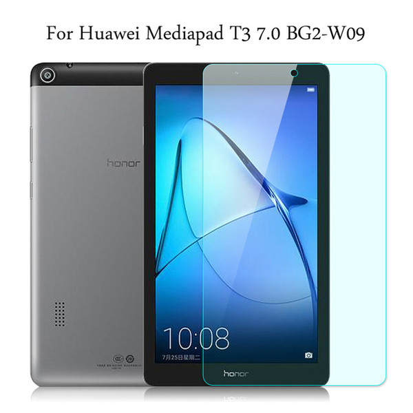 best selling Tempered Glass membrane For Huawei Mediapad T3 7.0 BG2-W09 Steel film Tablet Screen Protection Toughened
