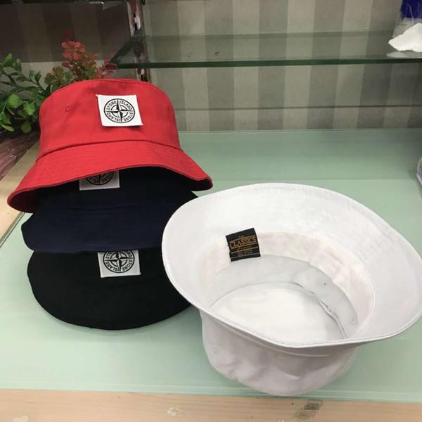 nuovo 4 colori cp pietra cappelli da ricamo cappelli esterni uomini donne unisex berretti da sole cappelli di cotone avaro berretto