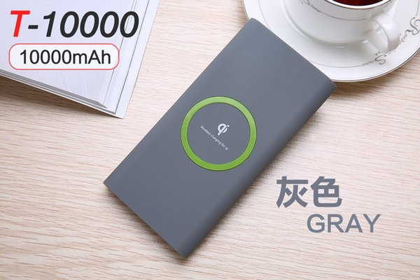 10000 mAh Hot sell Wireless Charger Power Bank for iphone 8/8 plus/X/Xs/XR samsung s7/s8/s9/s10 Portable Power bank Mobile Phone Charger