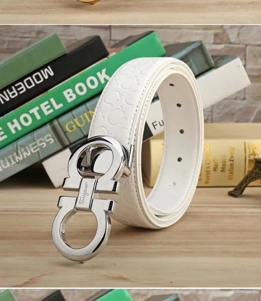 Fashion Luxury Genuine leather designer belts men's high quality Jaguar smooth buckle male belt wideband business belts for men cinturones