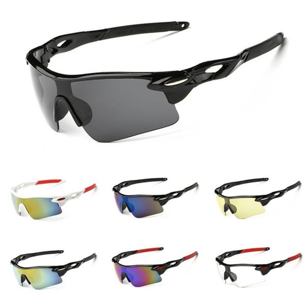Outdoor-Sport Radfahren Sonnenbrillen für Herren Damen Laufen Fahren Angeln Golf Baseball Brillen Designer Eyewear Fahrrad Reiten Gläser