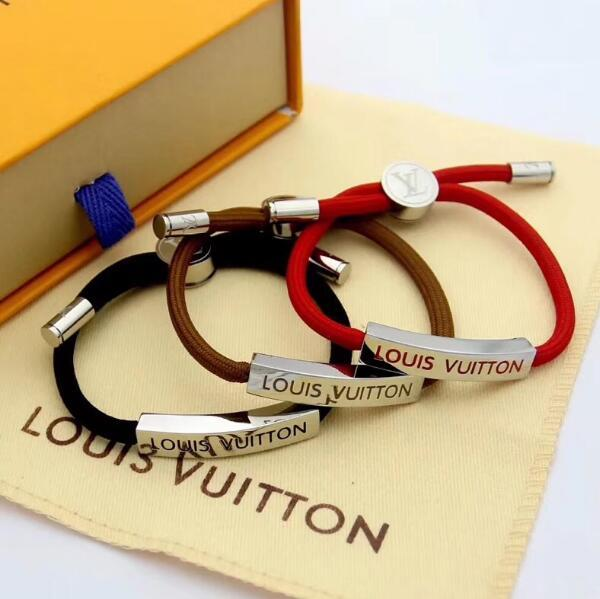 nouveau bracelet populaire pour hommes et femmes, bracelet en acier au titane 316L